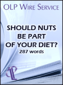 Should Nuts Be Part Of Your Diet?