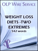 Weight Loss Diets-Two Extremes