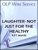Laughter - Not Just for the Healthy