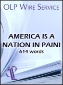America is a Nation in Pain!