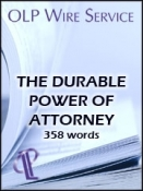 The Durable Power of Attorney