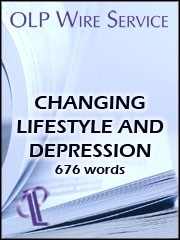 Changing Lifestyle and Depression