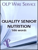 Quality Senior Nutrition