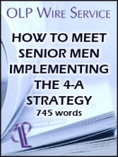 How to Meet Senior Men: Implementing the 4-A strategy