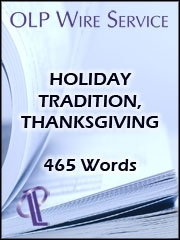 Holiday Tradition, Thanksgiving