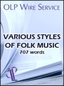 Various Styles of Folk Music