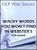 Wacky Words You Won't Find in Webster's