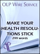 Make Your Health Resolutions Stick