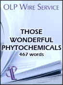 Those Wonderful Phytochemicals