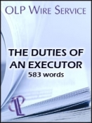 The Duties of an Executor
