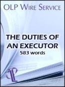 The Duties of an Executor