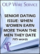 Senior Dating Issue: When Women Earn More Than the Men They Date