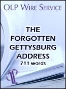 The Forgotten Gettysburg Address