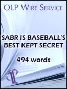 SABR is Baseball's Best Kept Secret