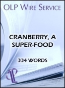 Cranberry, a Super-Food