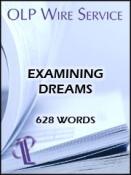 Examining Dreams
