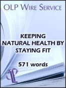 Keeping Natural Health through Staying Fit