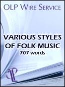 Various Styles of Folk Music