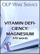 Vitamin Deficiency: Magnesium